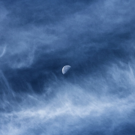 Moon in a Sea of Clouds No4