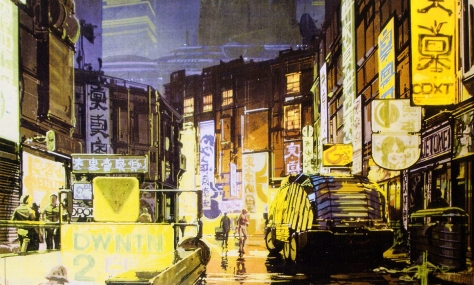 Syd Mead Blade Runner Concept Artwork 01