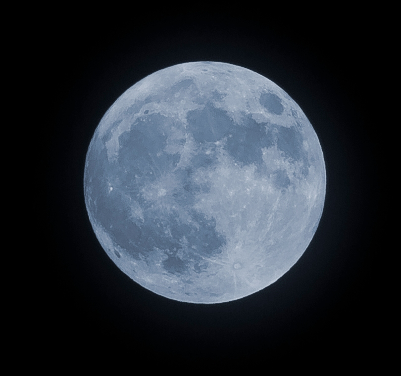 The Blue Moon 31st of August 2012