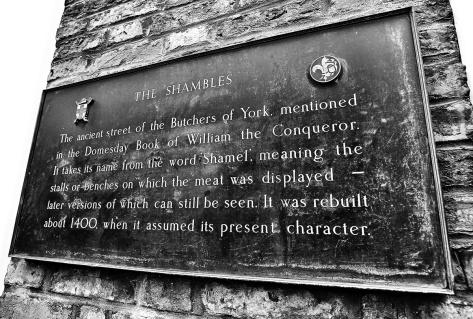 York The Shambles History