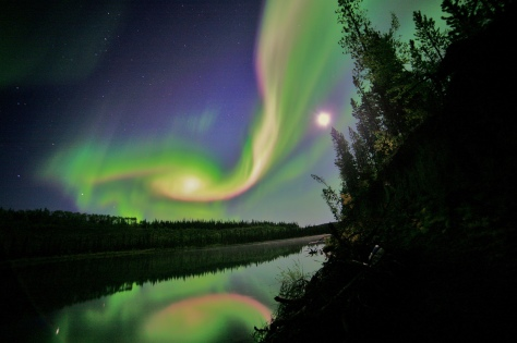 Aurora caused by the Coronal Mass Ejection Erupts on the Sun - August 31