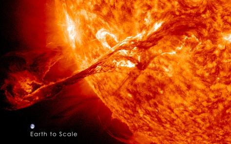 Coronal Mass Ejection Erupts on the Sun - August 31 1