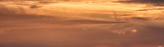 Cowboy Sunset over Leeds