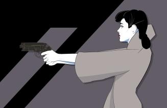 Craig Drake Blade Runner Rachel Poster