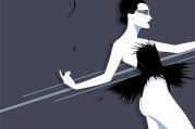 Craig Drake Nina Black Swan Mondo Poster