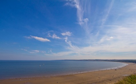 Filey Beach at the end of The Scenic Route 20 MilnersBlog