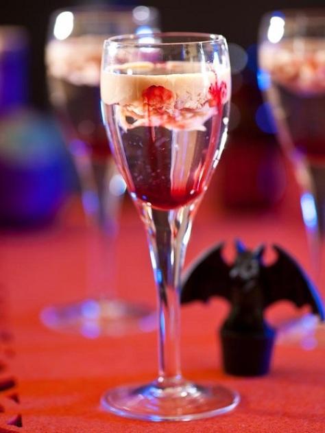 Halloween Drinks Blood Brain Vodka Shooters 02
