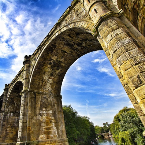 Knaresborough's Historic Railway Bridge