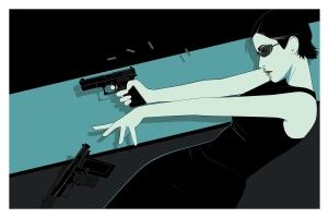 Mondo Matrix Poster