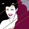 Patrick Nagel Duran Duran Rio Album Cover Artwork