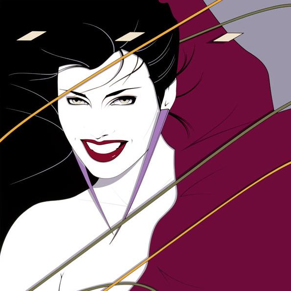 Patrick Nagel Duran Duran Rio Album Cover Artwork