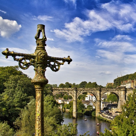 The Classic Knaresborough Bridge Picture