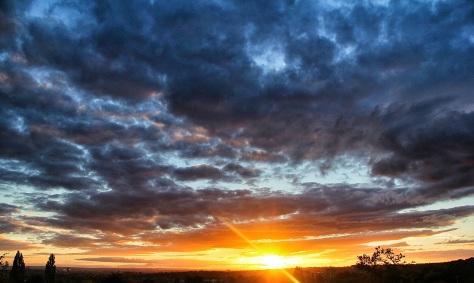 Vantage Point Carl Milner Photography Sunset over Leeds 01