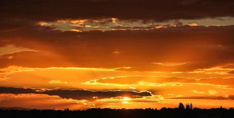 Vantage Point Carl Milner Photography Sunset over Leeds 03