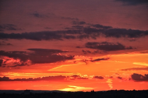 Vantage Point Carl Milner Photography Sunset over Leeds 08