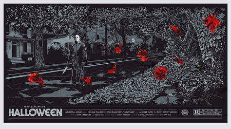 Halloween Michael Myers Mondo Movie Poster by Ken Taylor
