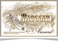 Wordpress Very Inspiring Blogger Award