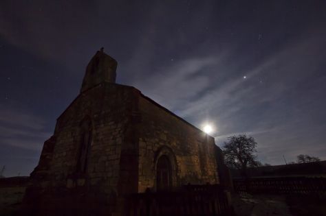 Church Moon Jupiter Pleiades