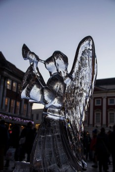 Trumpeting Ice Angel