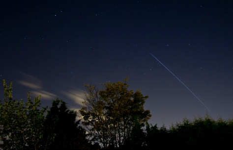 International Space Station over Leeds © Carl Milner 2013