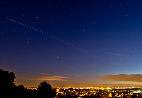 International Space Station over the UK Leeds © Carl Milner 2013