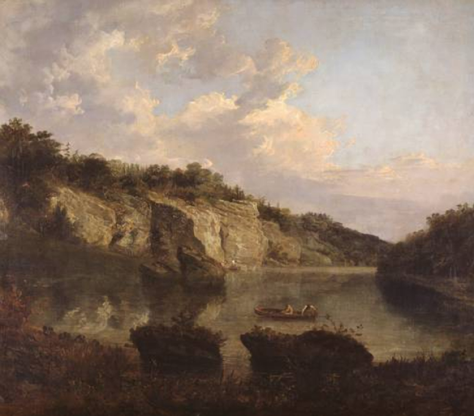 Plumpton Rocks by J.M.W.Turner 1798