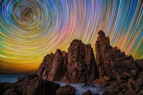 Startrail Photography by © Lincoln Harrison 1