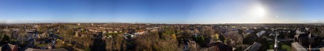 360 Degree Panorama of East Leeds 2013