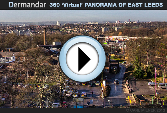 Interactive 360 Degree Panorama of East Leeds 2013