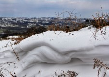 Folds in the Snow