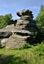 The Dancing Bear at Brimham Rocks