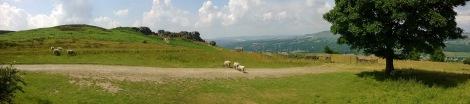 Ilkley Moor Landscape