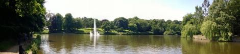 Roundhay Park Barrans Lake