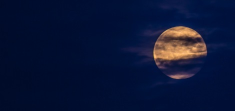 SuperMoon over Leeds
