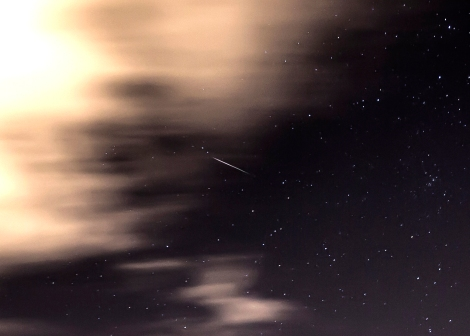 Perseid Meteor Shower 2013 over Yorkshire