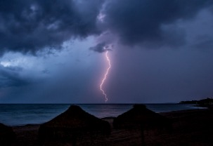 Lighting Storm at Sea 2