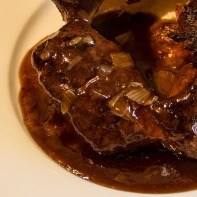 Yorkshire Pudding and Onion Gravy