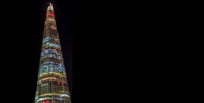 The Shard of Light MilnersBlog Header ©Carl Milner 2014