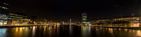 View from Lambeth Bridge at Night