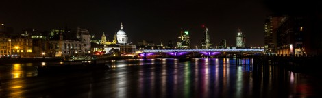 View of London from the SouthBank