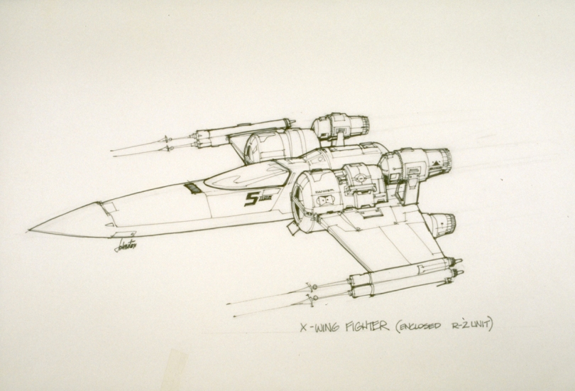 New Star Wars VII X-Wing Concept by Joe Johnston