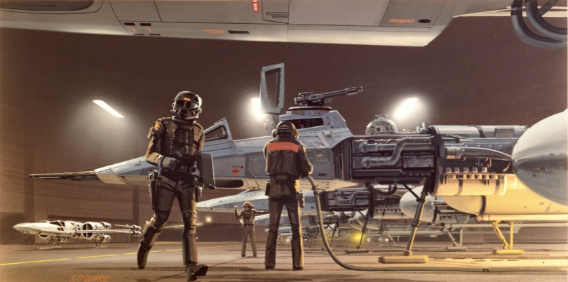 New Star Wars VII X-Wing Concept by Ralph McQuarrie