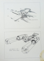 Star Wars Joe Johnston X-Wing Designs