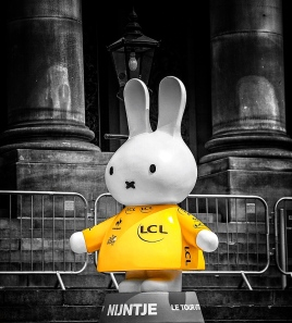 Miffy at the Tour de Yorkshire in Leeds