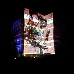 Leeds College of Art Projection Mapping