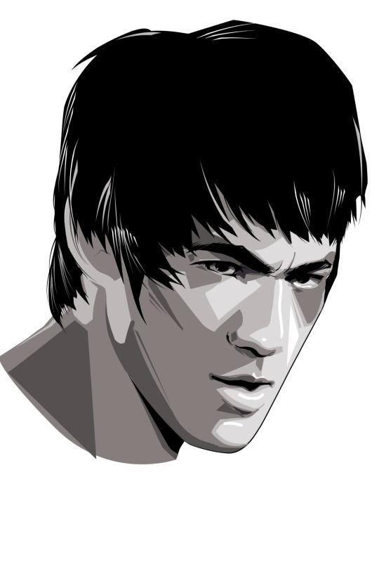 Bruce Lee by Craig Drake