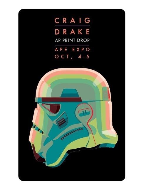 AP Print Drop Star Wars