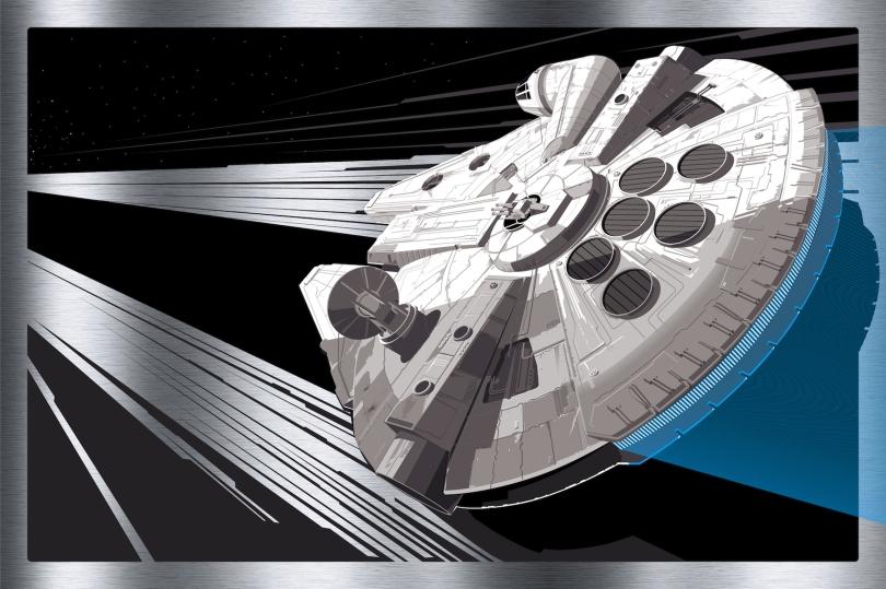 Millennium Falcon by Craig Drake