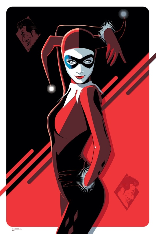 Harley Quin Mondo Batman 75th Anniversary Gallery Show by Craig Drake