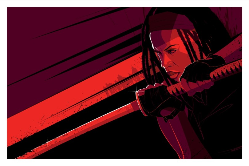 Michonne The Walking Dead by Craig Drake ©2014